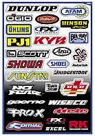 Наклейки Factory Effex Sponsor Kits A