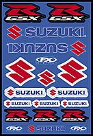Наклейки Factory Effex SUZUKI