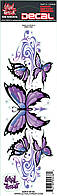 Наклейка Lethal Threat Purple Butterfly