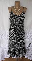 Стильное новое платье PER UNA MARKS&SPENCER полиэстер L 50 - 52 B70N