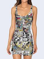 Платье Супергерои комиксов Марвел