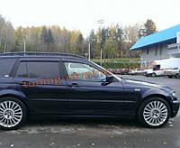 Дефлекторы окон (ветровики) COBRA-Tuning на BMW 3 WAGON E46 1998-2006