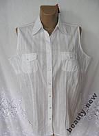 Новая летняя блузка безрукавка с вышивкой C&A 2X 54-56 B250N