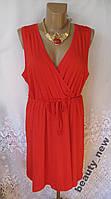 Новое яркое платье H&M хлопок L 50-52 В263N