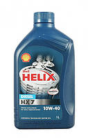 Моторное масло Shell Helix HX7 Diesel 10W40 1л