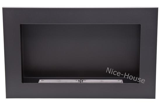 Биокамин Nice-House 65x40, черный, ароматезатор