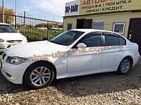 Дефлекторы окон (ветровики) COBRA-Tuning на BMW 3 E90 2005-2012
