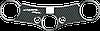 Наклейка на траверсу Print Honda CBR 600 2007/2014 карбон