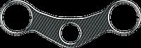 Наклейка на траверсу Print MV Agusta F4 карбон