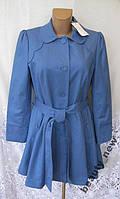 Стильное новое пальто плащ SAVIDA хлопок М 46-48 B18N