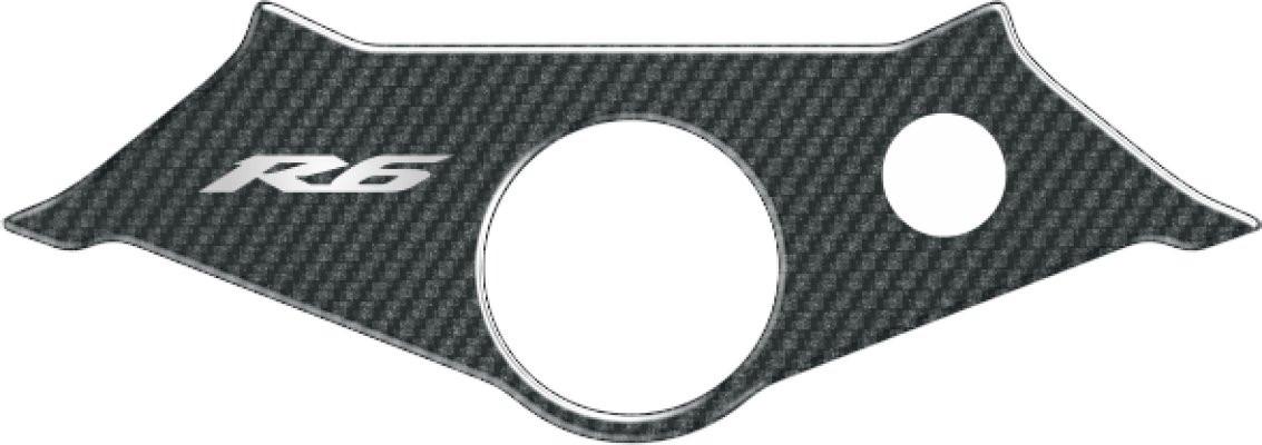 Наклейка на траверсу Print Yamaha R6 2003/2004 карбон