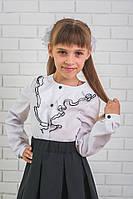 Блузка для девочки с рюшами , фото 1