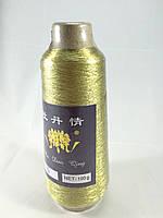 Нитки вышивальные люрекс золото