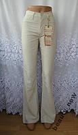 Новые джинсы AB-STAIN вискоза лен W 28 L 34