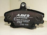 Тормозные колодки передние на Рено Логан 2004-2012 ABE (Польша) C1P000ABE