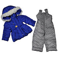 Костюм Любава дитячий зимовий для дівчинки, 104 р, фото 1