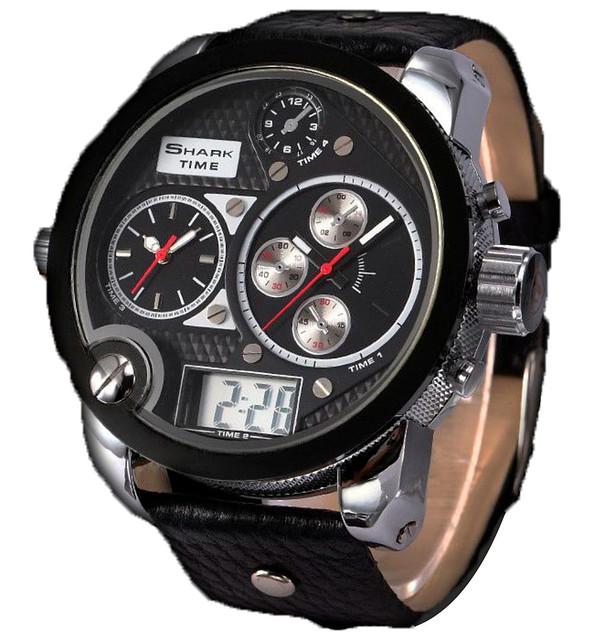 Кварцові наручні годинники Shark Whale I - 3 види