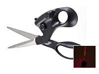 Ножницы с лазерным указателем для ровной резки