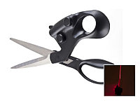 Ножницы с лазерным указателем для ровной резки, фото 1