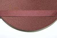 ТЖ 15мм репс (50м) коричневый (шоколад), фото 1