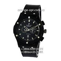 Часы Hublot quartz black/black