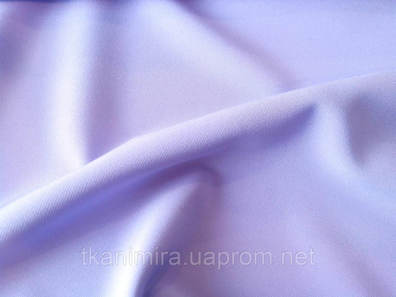 Костюмная ткань лиловая