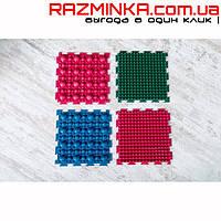 Резиновый массажный коврик-пазл (26 х 26 см) 4 шт.