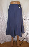 Новая стильная юбка M&CO лен вискоза M 46-48 B76N