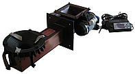 Пеллетная ретортная горелка для котлов 30-50 кВт