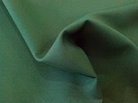 Костюмная ткань креп (зеленый бутылочный)