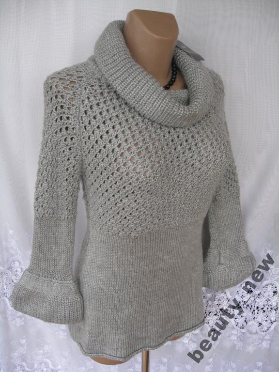 9b3f46d62c0 Новый теплый свитер MANGO акрил шерсть M 46-48 247N  продажа