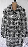 Новое стильное пальто MISS H полиэстер XL 52 B14N