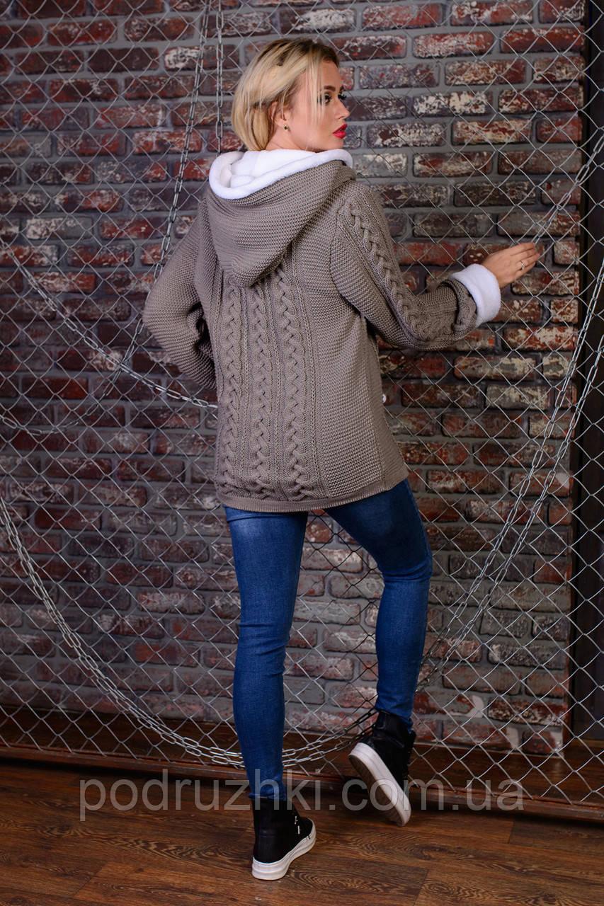 c52c3dec1c31c0 Красивая и теплая женская вязаная кофта универсальный размер., ...
