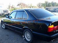 Дефлекторы окон (ветровики) COBRA-Tuning на BMW 5 Sedan E34 1988-1995