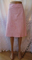 Новая стильная юбка с вышивкой FLORENCE+FRED хлопок М 46-48 A80N