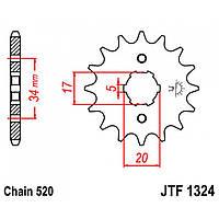 Звезда передняя JT JTF1324.12