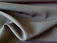 Костюмная ткань креп (черная)