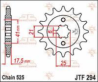 Звезда передняя JT JTF294.15