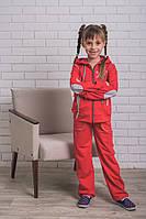 Сортивный  для девочек  красный, фото 1