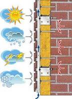 Вентилируемый фасад Сканрок под утепление