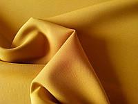 Костюмная ткань креп (горчичневая)