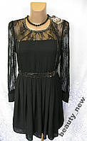 Новое платье с кружевами и декором SISTER JANE полиэстер L 48-50 А184N