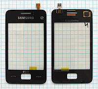Тачскрин сенсорное стекло для Samsung S5222 Star 3 Duos black