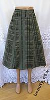 Новая юбка с вышивкой MARKS&SPENCER полиэстер хлопок М 46 - 48 A82N