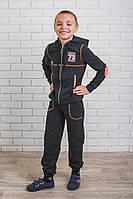 Костюм спортивный  для мальчика  темно-серый, фото 1