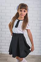 Костюм для девочки с галстуком, фото 1