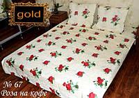 """Комплект качественного полуторного постельного белья """"Gold"""", фото 1"""