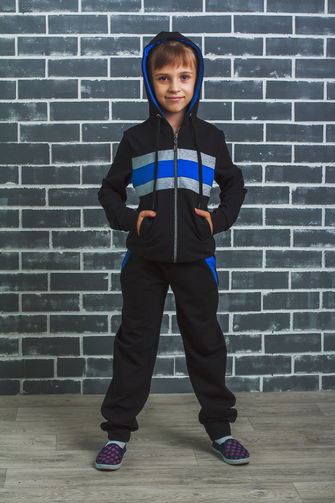 Детский спортивный костюм черный