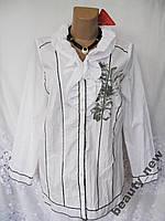 Новая стильная блузка  MY WAY FER хлопок L 50-52 В287N