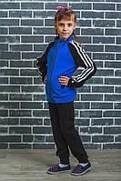 Спортивный костюм детский синий, фото 1